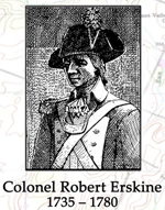 Colonel Robert Erskine, 1735-1780